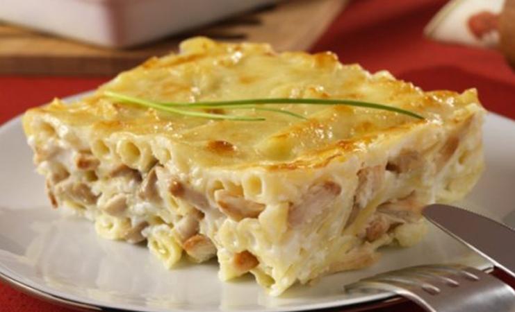 Recette Gratin de Pâtes au Poulet et fromage - Recettes Et ...