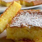 Gâteau à la noix de coco et au citron délicieusement parfumé