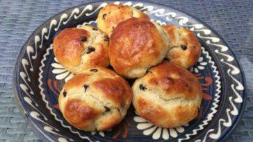 Petits pains au lait aux pépites de chocolat
