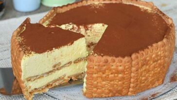Gâteau biscuit tiramisu sans cuisson
