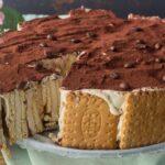 Gâteau de biscuits au café, sans cuisson rapide