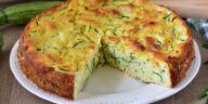 Gâteau de courgettes invisible Recette en 5 minutes au four